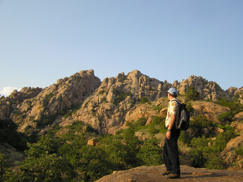 Didier in the wichita Mountain